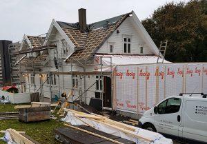 gammel hytte blir som ny