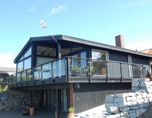 Et tradisjonelt Jokerhus bygget på 80-tallet ble bygget om til et topp moderne hus for en moderne familie, men med Jokerhus kvaliteten og -standarden intakt.
