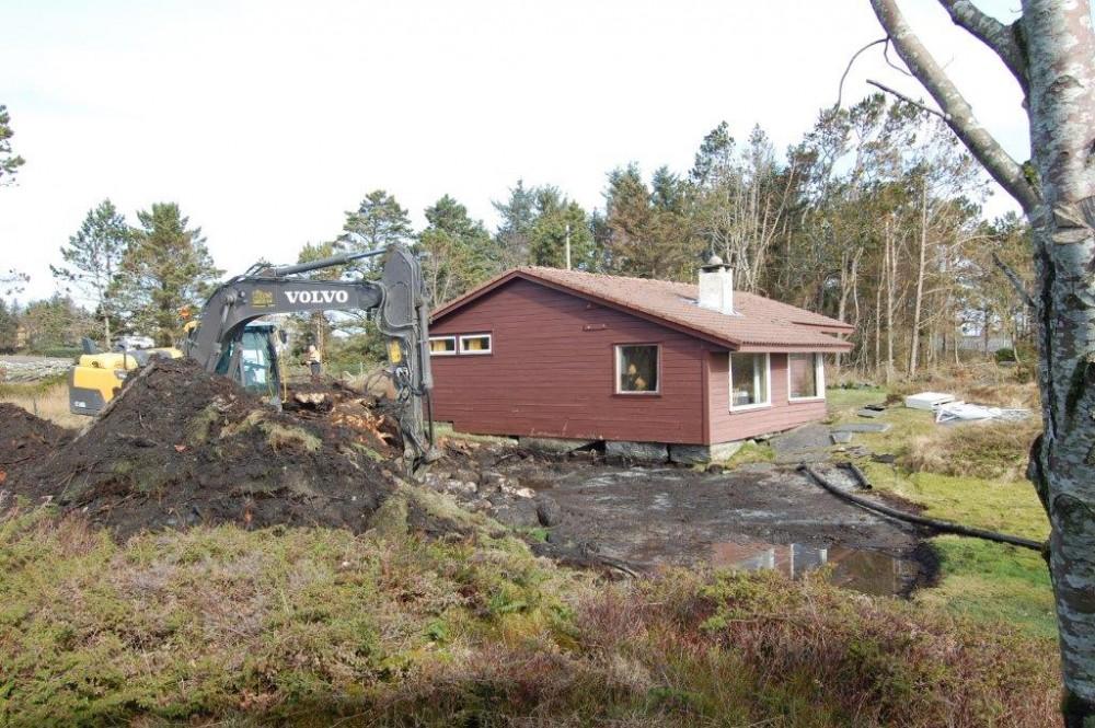 Viste gammel hytte
